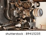old movie projector for cinema. ...   Shutterstock . vector #89415235