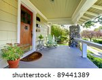 front entrance of the old... | Shutterstock . vector #89441389