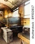 Last Century Rail Car Interior...