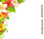 natural background with flower  ... | Shutterstock .eps vector #89504053