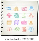 sketchbook series    travel...   Shutterstock .eps vector #89527003