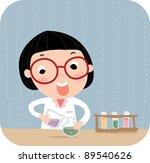 happy academic life | Shutterstock .eps vector #89540626