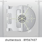 safe box | Shutterstock .eps vector #89567437