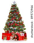 Photo Of A Christmas Tree With...