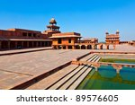 fatehpur sikri  india. it is a... | Shutterstock . vector #89576605