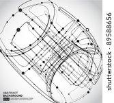 abstract background vector | Shutterstock .eps vector #89588656