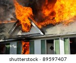 Residential Fire  Fully Involved