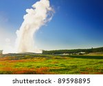 Old Faithful At Yellowstone