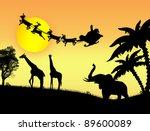 Santa Claus In Africa  ...