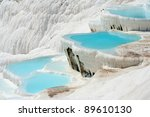 Natural Travertine Pools And...