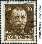 italy   circa 1929  a stamp... | Shutterstock . vector #89640952