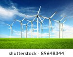 wind power | Shutterstock . vector #89648344