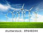 wind power | Shutterstock . vector #89648344