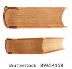 old book  isolated on white... | Shutterstock . vector #89654158