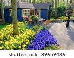 Flower Shop In Keukenhof...