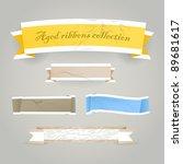 colorful polygonal vintage... | Shutterstock .eps vector #89681617