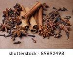 Cinnamon  Staranise And Cloves