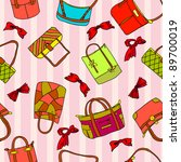 collection of woman's... | Shutterstock . vector #89700019