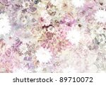 Stock photo floral pattern dried color 89710072
