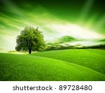 eco green planet | Shutterstock . vector #89728480