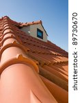 Typical Mediterranean Roof Fro...