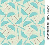 seamless pattern of open and... | Shutterstock .eps vector #89743690