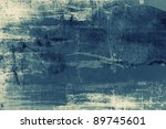 highly detailed grunge abstract ... | Shutterstock . vector #89745601