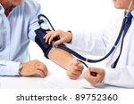 blood pressure measuring.... | Shutterstock . vector #89752360