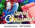 merry christmas concept | Shutterstock . vector #89754400