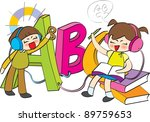 starting school | Shutterstock .eps vector #89759653