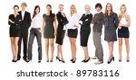 portrait of full lengh... | Shutterstock . vector #89783116