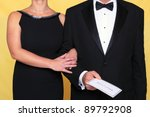 photo of a couple in black tie... | Shutterstock . vector #89792908