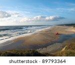 beach in sao pedro de muel ... | Shutterstock . vector #89793364