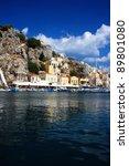 greece. dodecanesse. island... | Shutterstock . vector #89801080