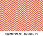 bright chevron red  orange and... | Shutterstock . vector #89808844