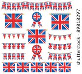united kingdom decorative... | Shutterstock .eps vector #89818297