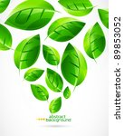 nature green concept background | Shutterstock .eps vector #89853052