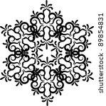 snowflake winter background.   Shutterstock . vector #89854831