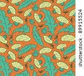 dandelion pattern | Shutterstock .eps vector #89915524