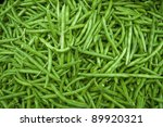 String Beans Bunched Together...