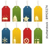 Christmas Tags With Festive...