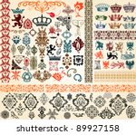 design elements | Shutterstock .eps vector #89927158