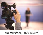 covering an event with a video... | Shutterstock . vector #89943289