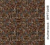 seamless pattern with coffee... | Shutterstock .eps vector #89971648