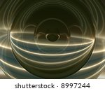 Swirling Rays Of Light Abstract