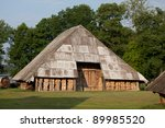 Old Barn With Firewood ...