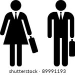 Pictogram Of A Businessman And...