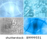 modern backgrounds collection - stock photo