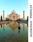 taj mahal in india | Shutterstock . vector #90004114