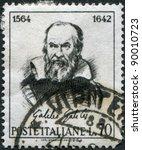 italy   circa 1964  a stamp...   Shutterstock . vector #90010723